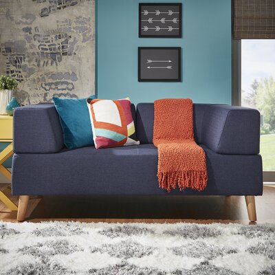 Alley Sofa Upholstery: Twilight Blue