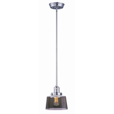 Kucharski Hi-Bay 1-Light Pendant Finish: Satin Nickel, Bulb: Included