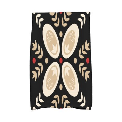Tradition Hand Towel Color: Black