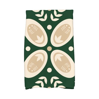 Tradition Hand Towel Color: Green