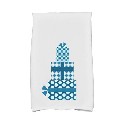 Gift Wrapped Hand Towel Color: Teal