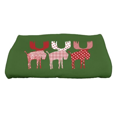 Merry Moose Bath Towel