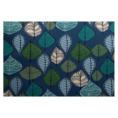 Morano Blue Indoor/Outdoor Area Rug Rug Size: 2 x 3