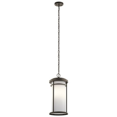 Scot 1-Light Cylindrical Shade Mini Pendant