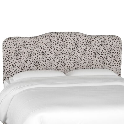 Alcock Tufted Polyester Upholstered Headboard Size: Queen