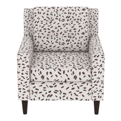 Greer Adobe Armchair Upholstery: Neo Leo Cream Tan Black OGA
