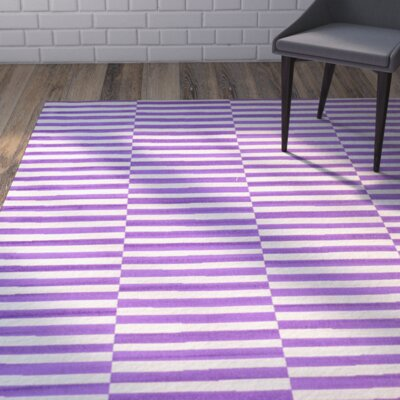 Braxton Purple Area Rug Rug Size: Rectangle 6 x 9