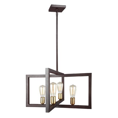 Deltoro 4-Light Kitchen Island Pendant