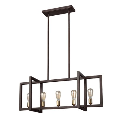 Deltoro 5-Light Kitchen Island Pendant