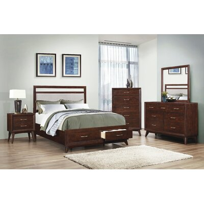 Zeta Panel Customizable Bedroom Set