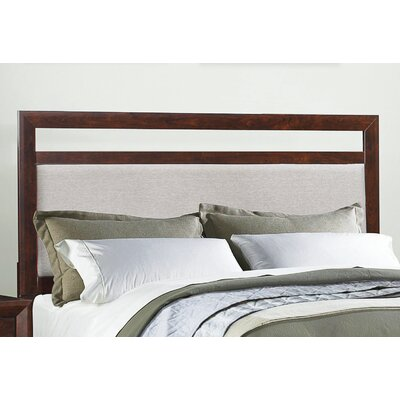 Zeta Upholstered Panel Headboard Size: Queen