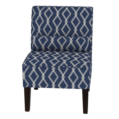 Thurston Slipper Chair Upholstery: Crossweave Blue OGA