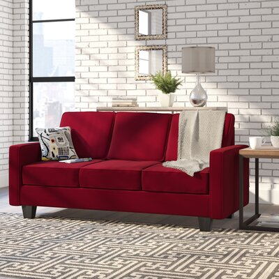 Serta Upholstery Liadan Sofa Upholstery: Graham Red/Graffiti Nightlight