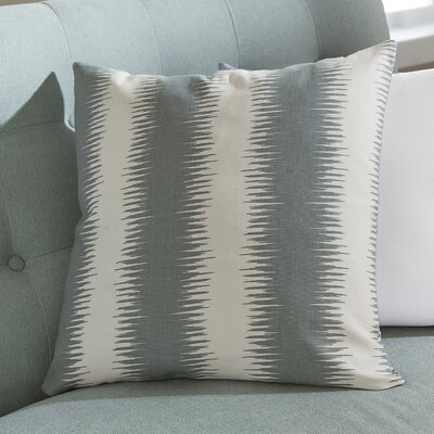 Lycus Striped Throw Pillow Color: Blue, Size: 18x18