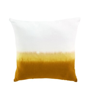 Lauralee Cotton Pillow Cover Color: Yellow