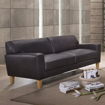 Debusk Leather Sofa