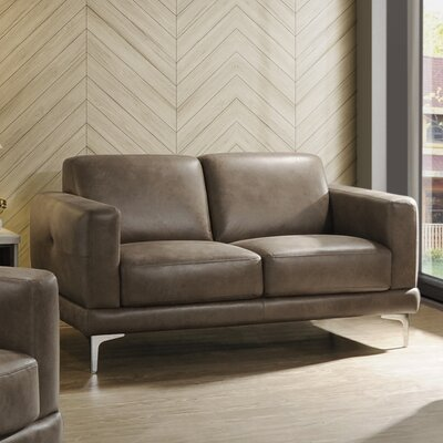 Madigan Leather Loveseat