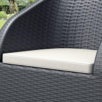 Jayne Outdoor Deep Seating Lounge Chair Cushion (Set of 2)