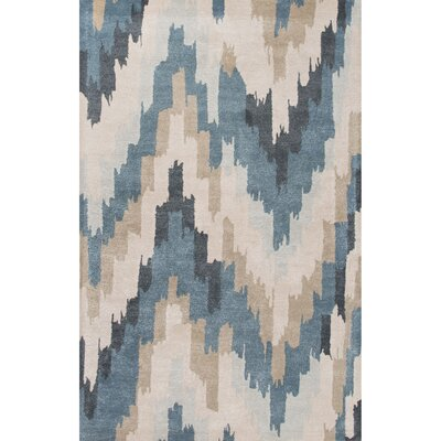 Valtierra Hand-Tufted Blue Area Rug Rug Size: Rectangle 2 x 3