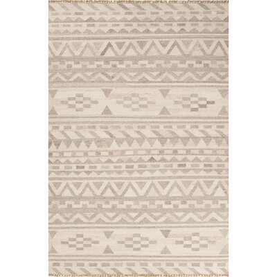 Devries Ivory/Neutral Area Rug Rug Size: 9 x 12