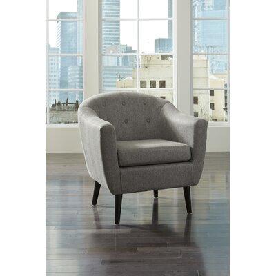 Slinkard Arm Chair Upholstery: Charcoal
