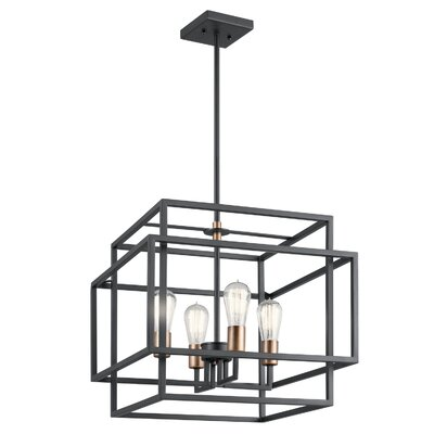 Dewees 4-Light Foyer Pendant
