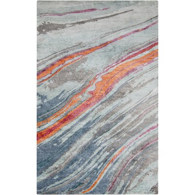 Brehm Hand-Tufted Area Rug Rug size: 5 x 8