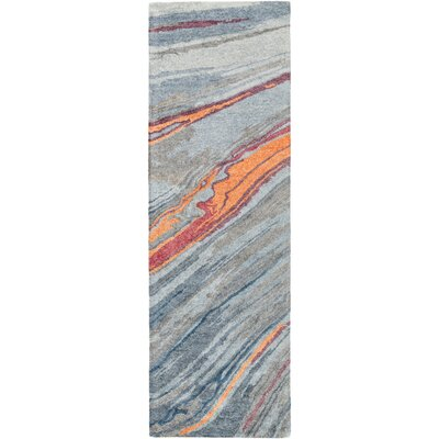 Leday Hand-Tufted Area Rug Rug size: Runner 26 x 8
