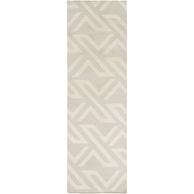 Breece Ivory Area Rug Rug Size: Runner 26 x 8