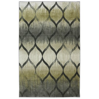 Dexter Garden Hatch Pewter/Sage Area Rug