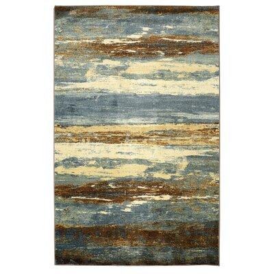 Dexter Sea Urban Blue/Brown Area Rug