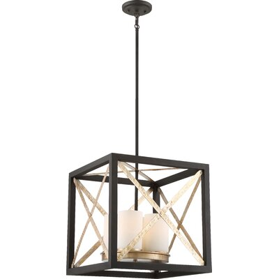 Diaz 4-Light Foyer Pendant