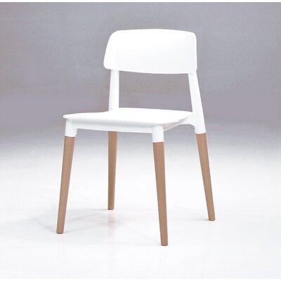 Dibella Side Chair (Set of 4) Finish: White