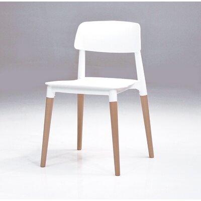 Dibella Side Chair (Set of 4) Finish: White