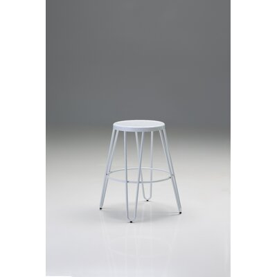 Finley 28.5 Bar Stool (Set of 4) Finish: White