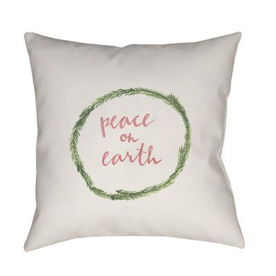 Mabella Indoor/Outdoor Throw Pillow Size: 18 H x 18 W x 4 D