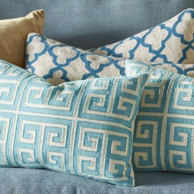 Modern Greek Key Small Pillow Set