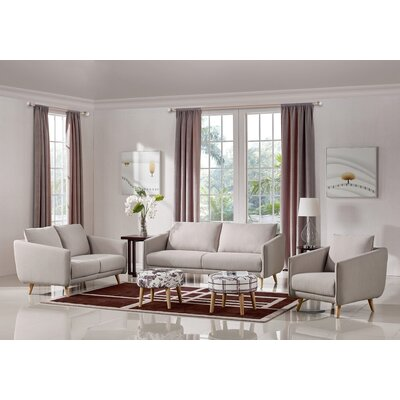 Alivia Upholstered Sofa Set