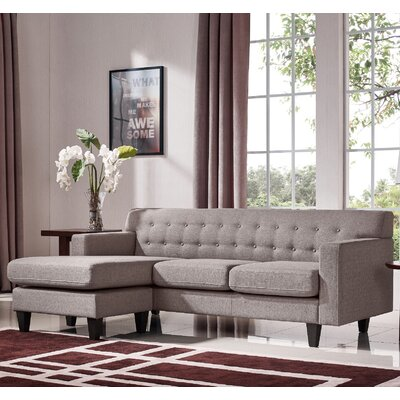 Currie Reversible Chaise Sectional