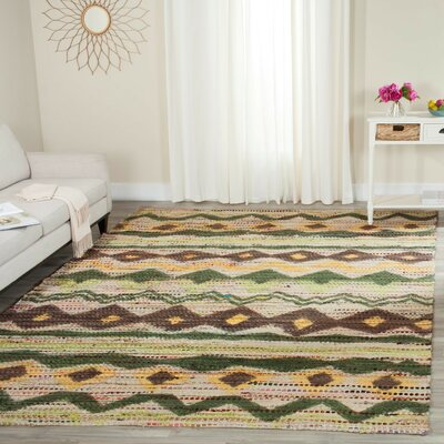 Miranda Hand Woven Area Rug Rug Size: Rectangle 4 x 6