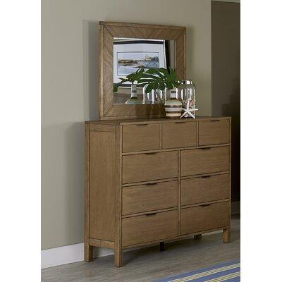 Hosier 9 Drawer Dresser with Mirror