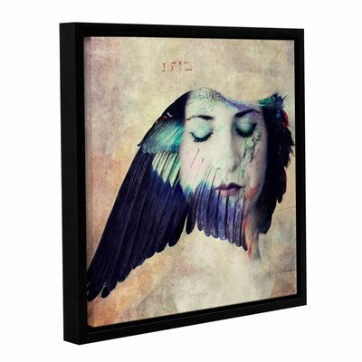 """The Muse Framed Graphic Art on Wrapped Canvas Size: 10"""" H 10"""" W IVYB7485 40407246"""