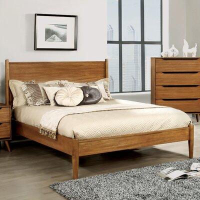 Mason Mid-Century Modern Platform Bed