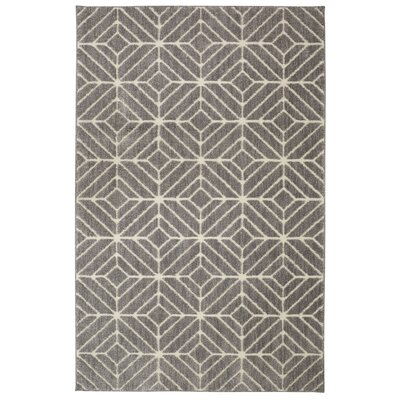 Braydon Quilted Geo Beige/Tan Area Rug Rug Size: Rectangle 5 x 7