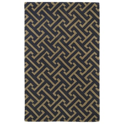 Vanauken Charcoal Area Rug Rug Size: Rectangle 2 x 3