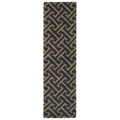 Vanauken Charcoal Area Rug Rug Size: Runner 23 x 8