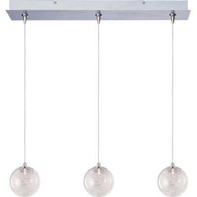 Kugler 3-Light RapidJack Globe Shade Pendant and Canopy