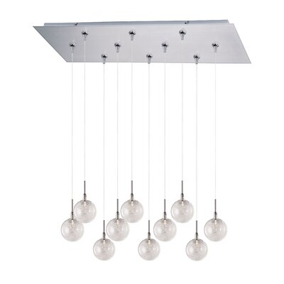 Kugler 10-Light RapidJack Pendant and Canopy