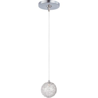 Philomena 1-Light RapidJack Pendant and Canopy