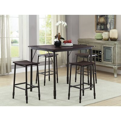 Fehrenbach 5 Piece Dining Set